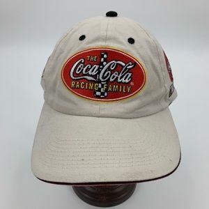 Coca Cola hat baseball cap NASCAR 2003 adjustable